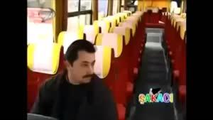 دوربین مخفی ترکیه ارواح در اتوبوس