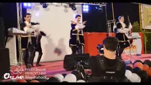 اجرای زیبای رقص آذری در تهران