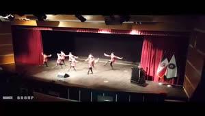 رقص زیبا و هماهنگ خردسالان آیلان در فرهنگسرای تهران