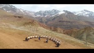 """کلیپ رقص و موسیقی اصیل آذربایجانی """"آیلانیش"""" گروه آیلان"""