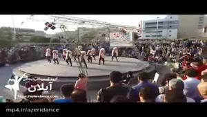رقص آذری چوپانی توسط کودکان گروه آیلان