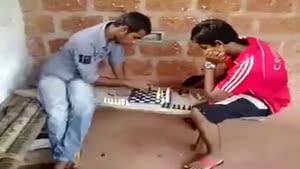 شطرنج و پیچوندن بازی