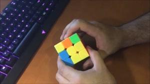 آموزش فارسی حل مکعب روبیک 4