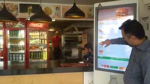 کیوسک سفارش غذا در رستوران فست فود و فودکورت ها یک انتخاب هوشمندانه