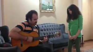 صدای شاهکار دختر بچه ایرانی
