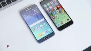 مقایسه ی کامل و ویدیویی گوشی های Samsung Galaxy S۶ و Apple iPhone ۶