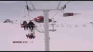 مهمترین پیست اسکی ایران نقره داغ شد