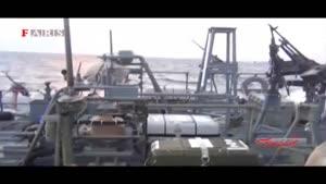 لحظه دستگیری ۱۰ تفنگدار آمریکایی توسط سپاه