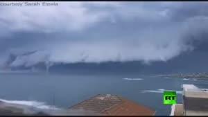 فیلم/ابرهای ترسناک در سیدنی استرالیا
