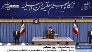 پاسخ کوبنده رهبر انقلاب به آمریکا/ طراحی علیه رزمایشهای دریایی ایران غلط اضافی است