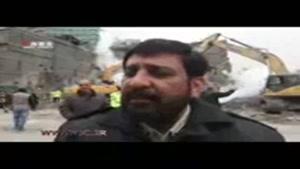 تعداد مفقودیهای حادثه پلاسکو از زبان جانشین رئیس پلیس تهران