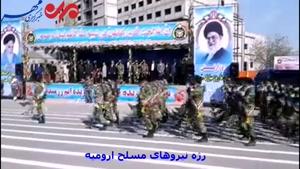 برگزاری مراسم رژه روز ارتش در ارومیه
