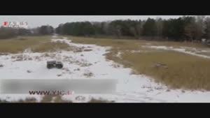 تست خودروی جدید ارتش روسیه