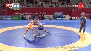 پیروزی پرویز هادی در نیمهنهایی وزن ۱۲۵ کیلوگرم