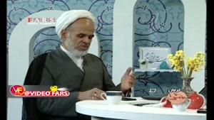 واکنش جالب مهمان برنامه زنده تلویزیون هنگام وقوع زلزله کرمان