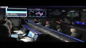 فیلم/ شادی محققان ناسا پس از ورود «جونو» به مشتری