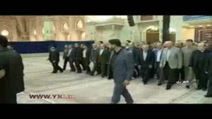 تجدید میثاق وزیر ورزش با آرمانهای امام خمینی(ره)