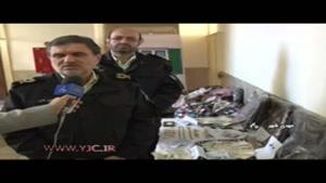 دستگیری باند زورگیری از پیرزنها در سمنان