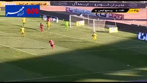 فیلم/ خلاصه دیدار تیم های فوتبال نفت تهران - پرسپولیس