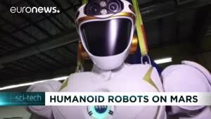 فیلم/ اولین روبات انسان نما که مسافر مریخ می شود