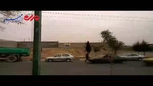 فیلم/ترافیک در ورودی مسیر ایلام-مهران