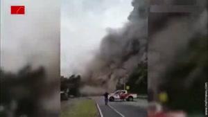 انفجار تازه در آتشفشان گواتمالا