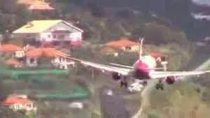 فیلم/«فنشال» فرودگاهی رعب آور برای خلبانان