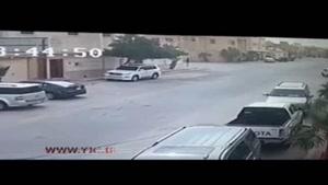 لحظه سرقت از یک شهروند سعودی
