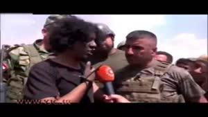 مصاحبه با یک اسیر داعشی و ابراز ندامت او