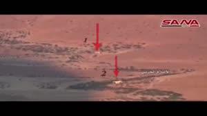 فیلم/هلاکت سرکرده نظامی داعش در منطقه القاع در لبنان