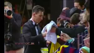 تصاویری کامل از برخورد محترمانه مسی،رونالدو و نیمار با هواداران
