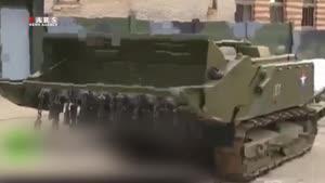 رُبات مینروب روسی در تدمر
