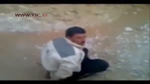 اعدام وحشیانه مردم بی گناه توسط داعش(۱۸ )