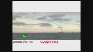 شلیک موشک های روسی از دریای خزر به شرق سوریه