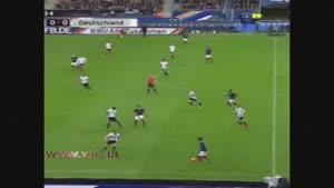 لحظه انفجارهای پاریس در حین بازی فرانسه - آلمان