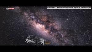 فیلم/ کهکشان راه شیری را تماشا کنید