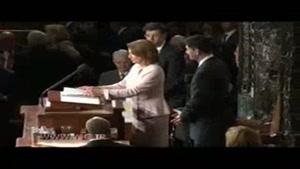 مراسم ادای سوگند اعضای کنگره آمریکا