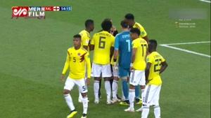 کار عجیب بازیکنان کلمبیا در زمان ضربه پنالتی هری کین