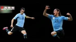 معرفی تیم ملی اروگوئه