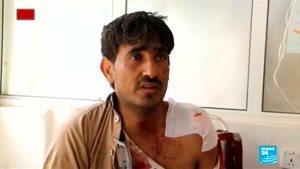 حمله مستقیم آل سعود به اتوبوس حامل کودکان یمنی