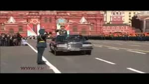 مراسم رژه روز پیروزی با حضور پوتین