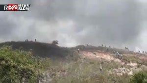 هرج و مرج در مرز برزیل