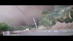 هجوم ریزگردها به شهرستان ریگان کرمان