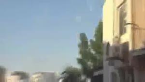 فیلم/تداوم تظاهرات مسالمت آمیز بحرینی ها و یورش نظامیان آل خلیفه