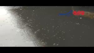 فیلم/ پلانی از یک روز بارانی در کرج