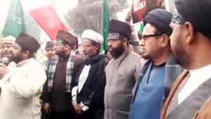 فیلم/ تظاهرات ضد سعودی در هند