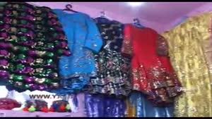 دوخت لباس محلی بختیاری در الیگودرز