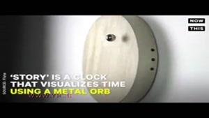 ساعت مغناطیسی جالب