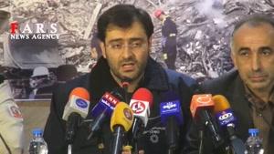 /نشست خبری حادثه پلاسکو/تا کنون شش پیکر در اختیار اداره کل پزشکی قانونی استان تهران قرار گرفته