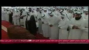 مراسم خاکسپاری امیر اسبق قطر